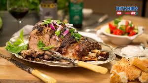 slow roast greek style leg of lamb youtube
