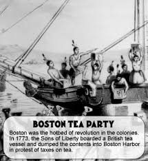 boston tea party and the intolerable acts for kids