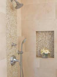 tiled shower ideas for bathrooms mosaic bathroom designsways to amp up builder grade basics mosaic