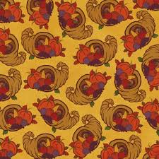 fall thanksgiving scrapbook paper cornucopias