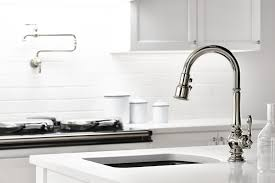Modern Kitchen Sink Faucet Kitchen Makeovers Brushed Bronze Kitchen Faucet Kraus Faucets
