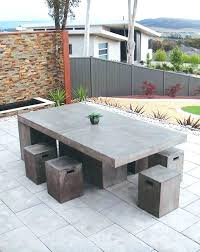 cement table and bench concrete garden table and benches outdoor concrete bench 0 concrete
