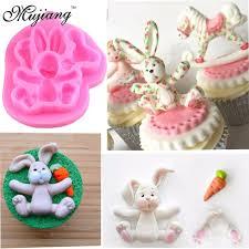 bunny mold mujiang easter bunny silicone molds cupcake fondant cake