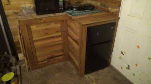 kitchen cabinets from pallet wood my new pallet wood kitchen