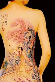 back chinese tattoo tattoomagz