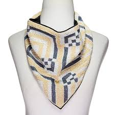 bib necklace beaded images R j graziano seed bead 25 1 2 quot bandana bib necklace 8690684 hsn jpg