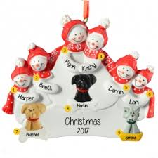 family of 5 or more cat ornaments ornaments for you