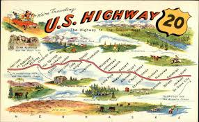 map us hwy map of u s highway 20 maps