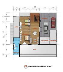 3 Bedroom Villa Floor Plans by Coral Cay 3 Bedroom Villas