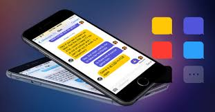 iphone themes that change everything message themes change sms text message bubbles