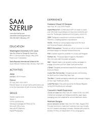 Director Of Ecommerce Resume Résumé U2014 Sam Szerlip