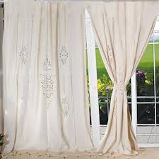 Immagini Tende Country by Tab Top French Country Cotton Linen Crochet Lace Curtain Panel