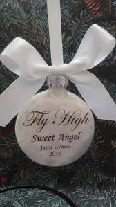 memorial ornament in memory sympathy gift personalized