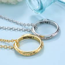 couple necklace chains images Personalized any double initial name necklace couple pendant charm jpg