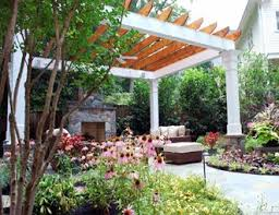 Outdoor Covered Patio Pictures Outdoor Fireplace Pictures Gallery Landscaping Network