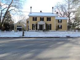 henry david thoreau house the yellow house concord mass