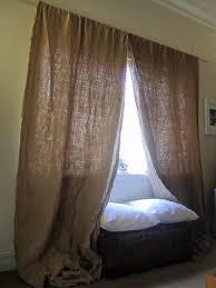 hessian curtains designromp
