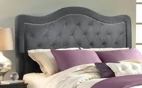 Linen Upholstered King Headboard Grey Fabric Headboard U2013 Senalka Com