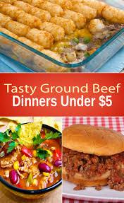 slow cooker steak and potatoes 5 dollar dinnerscom tasty ground beef dinners under 5
