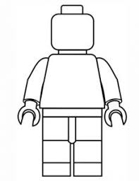 Lego Minifigure Coloring Pages Funycoloring Lego Coloring Pages