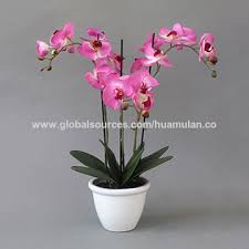 artificial flowers china artificial flowers pink white ceramic pot table artificial