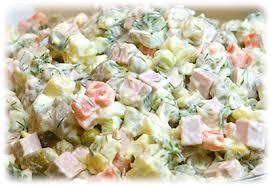 olivier cuisine salad olivier cossack cuisine