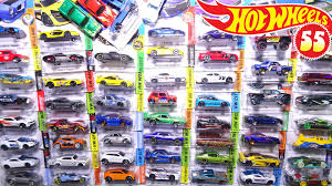 opening 55 wheels carded toy cars sports cars trucks