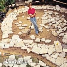Patio Rocks Build A Stone Patio Or Brick Patio Family Handyman