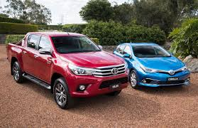 corolla suv australian vehicle sales for august 2017 u2013 toyota sets pace for