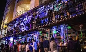 oskar tribalism halloween party nightlife oskar bistro one