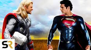 superman vs thor clash of the gods new epic fan trailer marvel