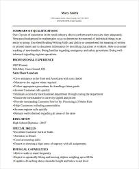 Sample Of Sales Associate Resume 51 Sales Resume Examples Free U0026 Premium Templates