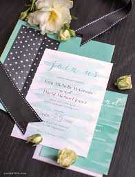 teal wedding invitations watercolor teal wedding invitations lia griffith