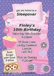 birthday invitations party invites ebay