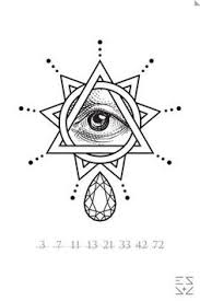all seeing eye eye and tatting