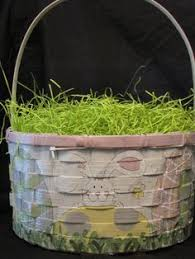 painted easter baskets painted personalized easter basket easter basket peek n bunny