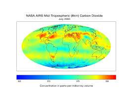 Arizona Temperature Map by Airs Global Map Nasa