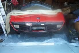 1978 corvette front bumper tips for working on your c3 corvette