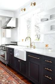 white kitchen cabinets with gold hardware navy and white kitchen navy blue cabinets with brass hardware white