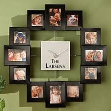 Personalized Clocks With Pictures Best 25 Picture Clock Ideas On Pinterest Picture Wall Clocks