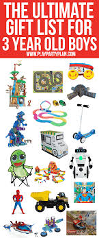 the ultimate list of gift ideas for a 3 year boy everything