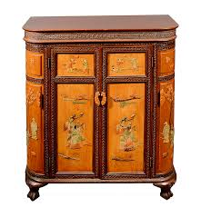 vintage chinese liquor cabinet with soapstone inlay ebth