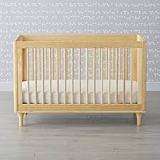 Bassinet Converts To Crib Baby Cribs Bassinets Crate And Barrel