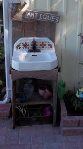 Outdoor Camping Sink Station by 132 Best Potting Benches And Outdoor Sinks Images On Pinterest