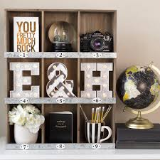 Letter Shelf Shelving Unit U0026 Globe From Target 2015 Marquee Letters By Heidi