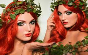 Halloween Make Up Tutorials 2014 Poison Ivy Youtube