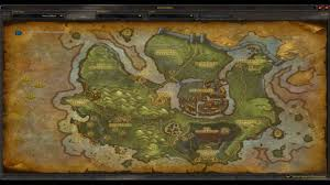 World Of Warcraft Map World Of Warcraft Cataclysm Official In Game Maps Gilneas The