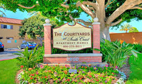 apartments for rent in santa ana ca the courtyards at south