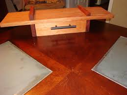 African Mahogany Laminate Flooring Custom Made African Mahogany Floating Shelf With Drawer
