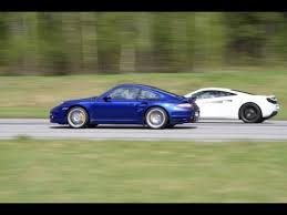 porsche 911 turbo s 997 porsche 911 turbo s 997 vs mclaren mp4 12c factory upgrade